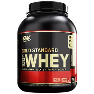 $86.99 - 10lbs Optimum Nutrition Gold Standard 100% Whey Protein Powder (Various Flavors)
