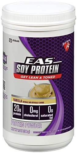 1.3lbs EAS Soy Protein Powder (Vanilla) $5.77 or Less + Free Shipping Amazon.com