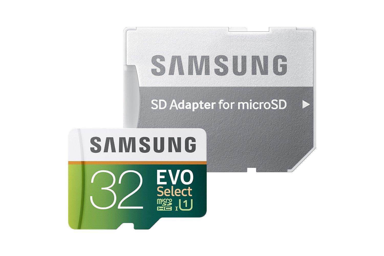 Samsung 32gb evo select micro SD card $9.99 amazon