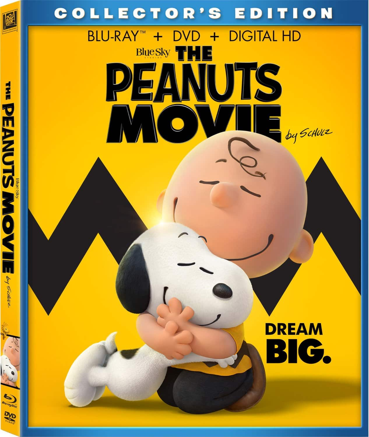 Amazon Prime Members: The Peanuts Movie (Blu-ray + DVD + Digital HD)  $12