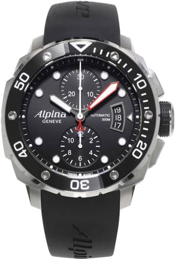 Alpina Seastrong Extreme Diver 300m Automatic Chronograph Watch  $799 + Free Shipping