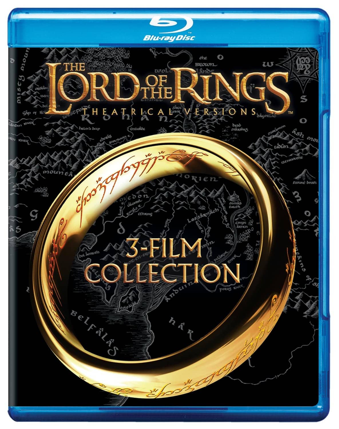 Lord of the Rings: Theatrical Trilogy (Blu-ray)  $12 + Free Store Pickup