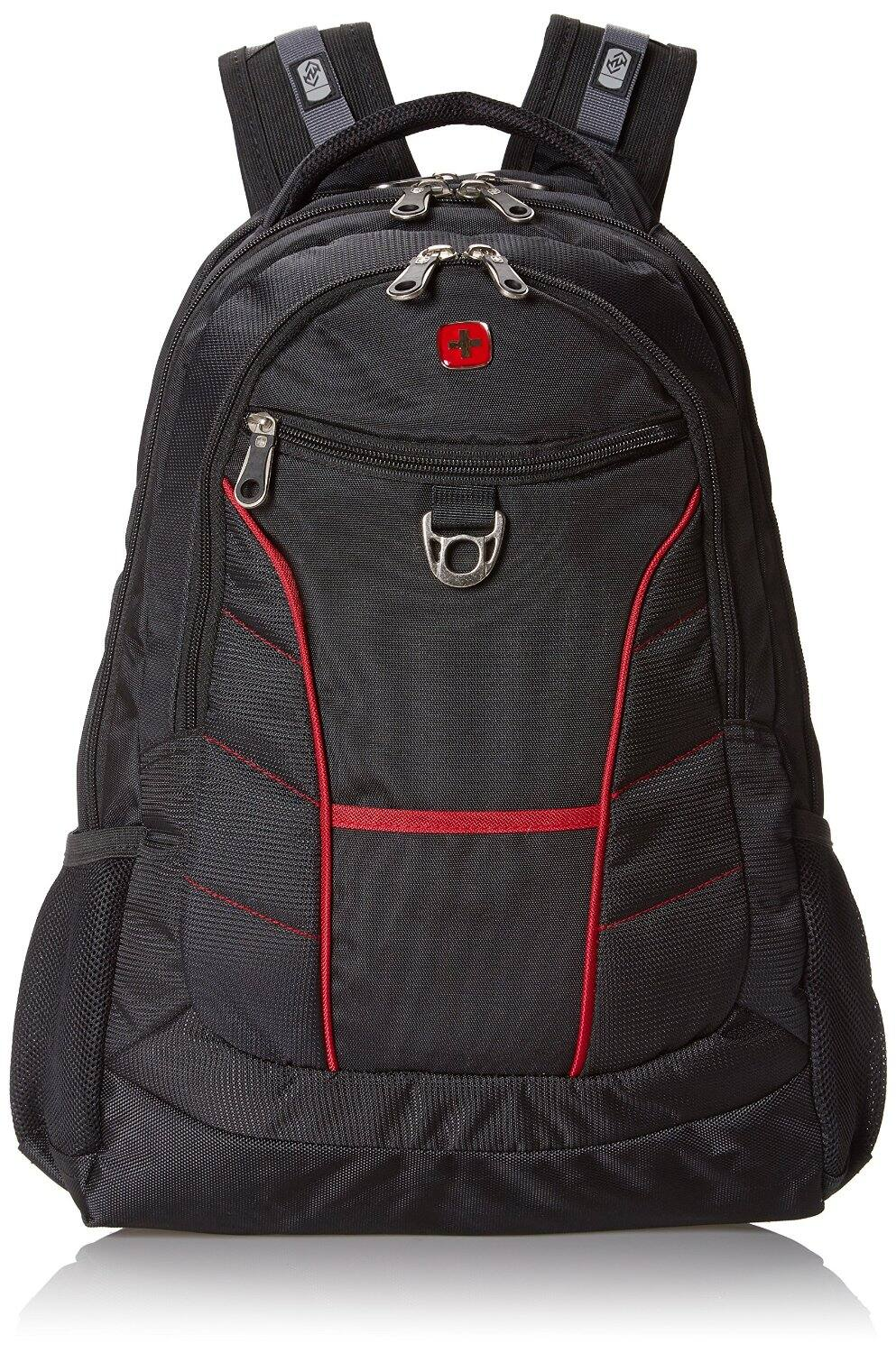 SwissGear SA1775 Laptop Computer Backpack w/ Airflow Back System (Black & Red Accents) $18.03 + Free Shipping Amazon.com