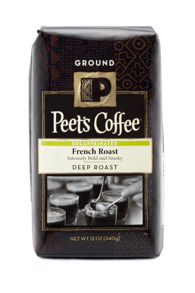 Prime Members: Peet's Ground Coffee, Decaf French Roast, 12-Ounce - $1.40 w/ S&S