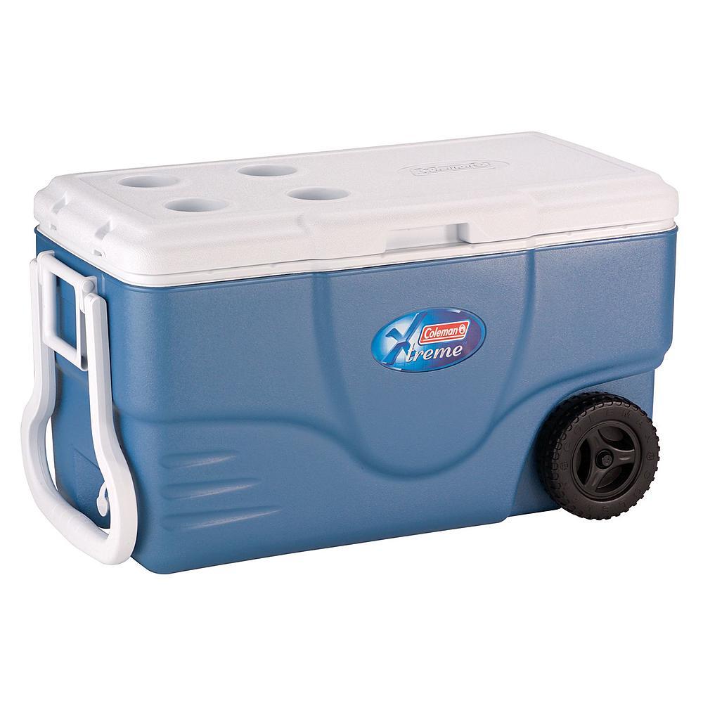 Coleman Xtreme5 62 qt Wheeled Cooler $36