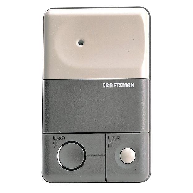 Craftsman: Garage Door 3-Function Remote Control $17.69, Garage Door Control Console $8.99 & More + Free Store Pickup ~ Sears