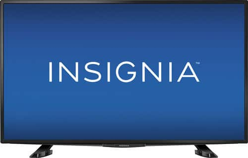 """40"""" Insignia 1080p LED HDTV  $180 + Free In-Store Pickup"""