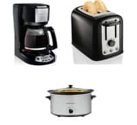 Hamilton Beach: 6-Qt Slow Cooker, Toaster or 12-Cup Coffeemaker  3 for $10 After $30 Rebate + Free Store Pickup