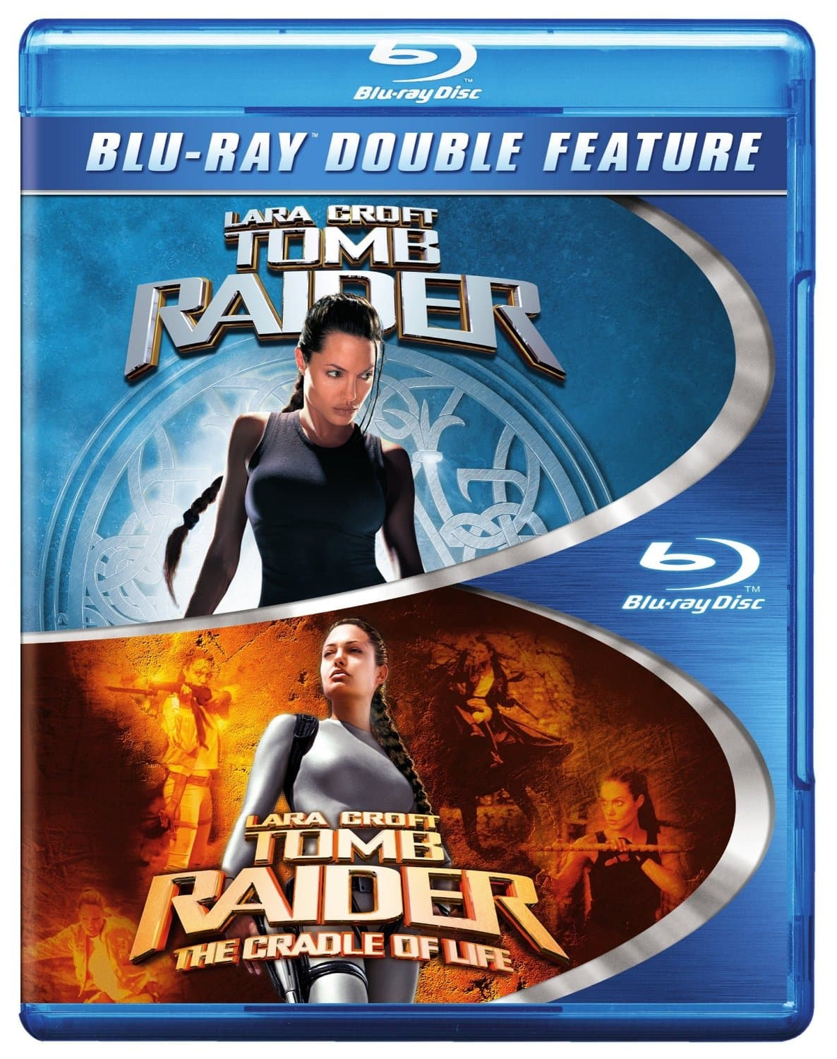 Lara Croft Tomb Raider & Lara Croft Tomb Raider: The Cradle of Life (Blu-ray)  $5 + Free Store Pickup
