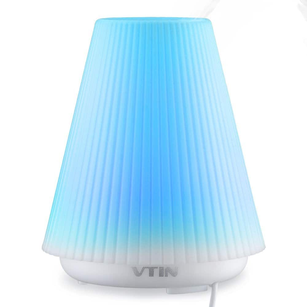 Vtin Ultrasonic Aromatherapy Essential Oil Diffuser w/ 7 Color Led $8 @ Amazon