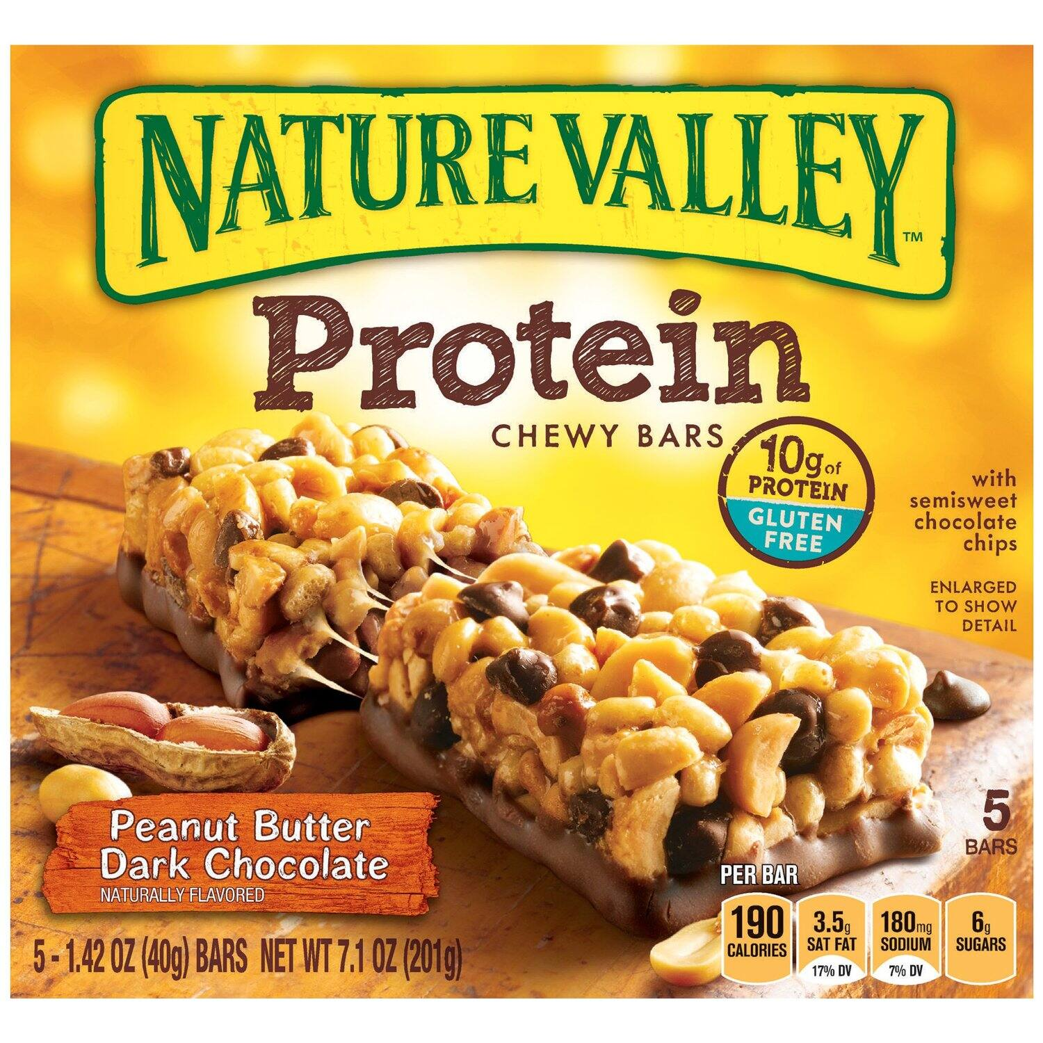 30-Count of 1.42oz Nature Valley Peanut Butter Dark Chocolate Bars  $8.85 & More + Free Shipping