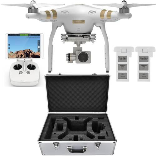 DJI Phantom 3 PRO Quadcopter Drone w/ 4K Camera + 32GB Flash Drive + Extra DJI Battery + Hard Case + Corel Paintshop X8 $899 + free shipping