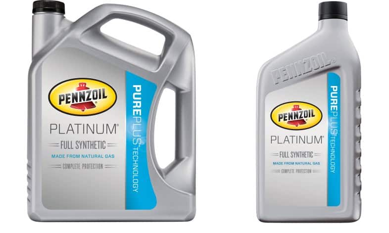 6 Quart Pennzoil Platinum Full Synthetic Motor Oil 5w 30
