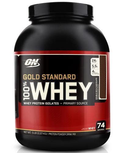 Optimum Nutrition Gold Standard 100% Whey Protein Powder 2 x 5 lb for $81.18 BOGO