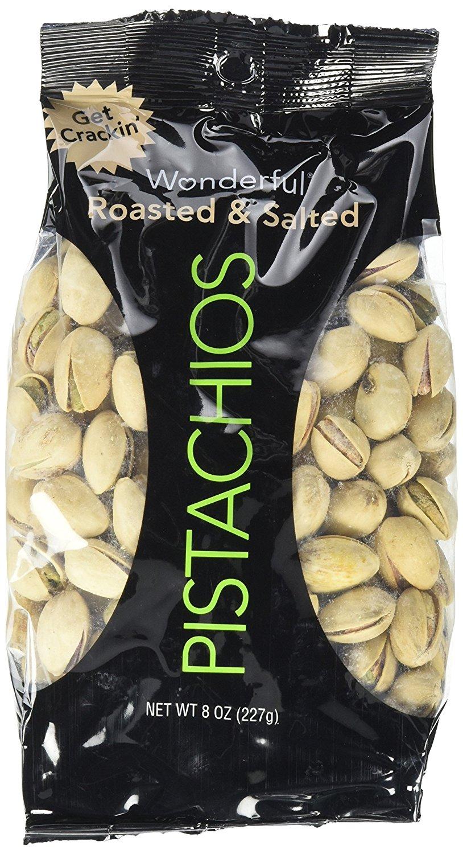 Wonderful Pistachios, 12.5lbs $16.43 @ Amazon.com
