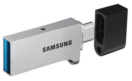 128GB Samsung Duo USB 3.0 OTG Flash Drive  $30