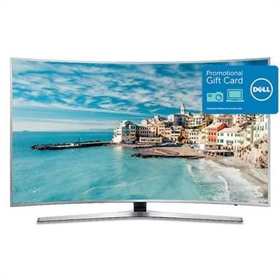 """Samsung 65"""" Curved 4K Smart Ultra HDTV - UN65KU6500 + $400 eGift card for $1299.99"""
