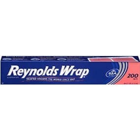 200 Sq. Ft. Reynolds Wrap Aluminum Foil $6.10 + Free Shipping
