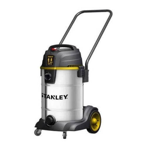 Stanley 8-Gallon 6 HP Stainless Steel Wet Dry Vac w/ Wheels, Heavy Dolly & Accessories $35.63 + Free Shipping Walmart.com