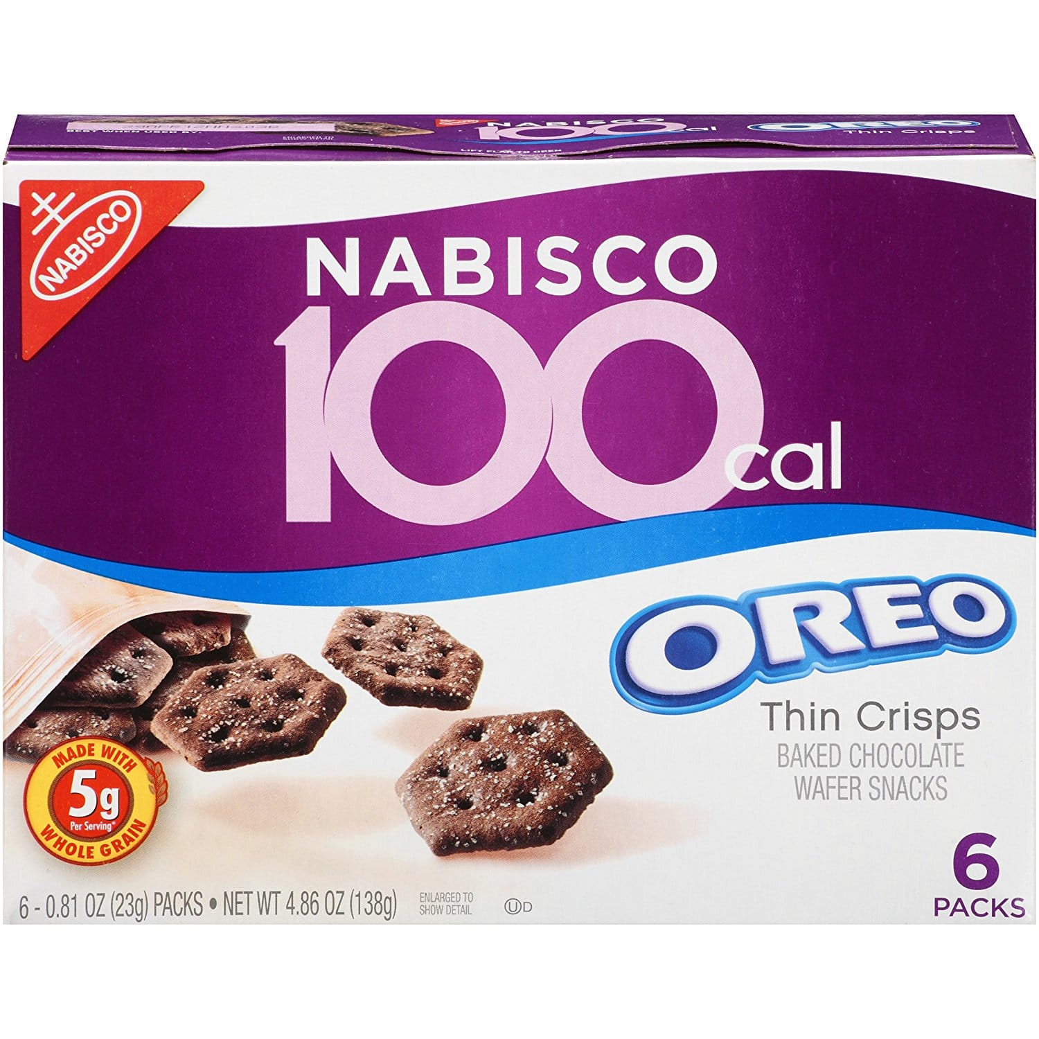 6-Pack 6-Count Nabisco 100 Calories Oreo Thin Snacks (Chocolate) $5.70 or Less + Free Shipping Amazon.com