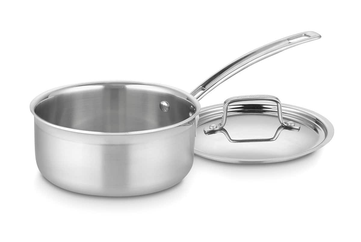 1.5-Quart Cuisinart MultiClad Pro Stainless Steel Saucepan w/ Cover $17.95 + Free Shipping w/ Prime Amazon.com