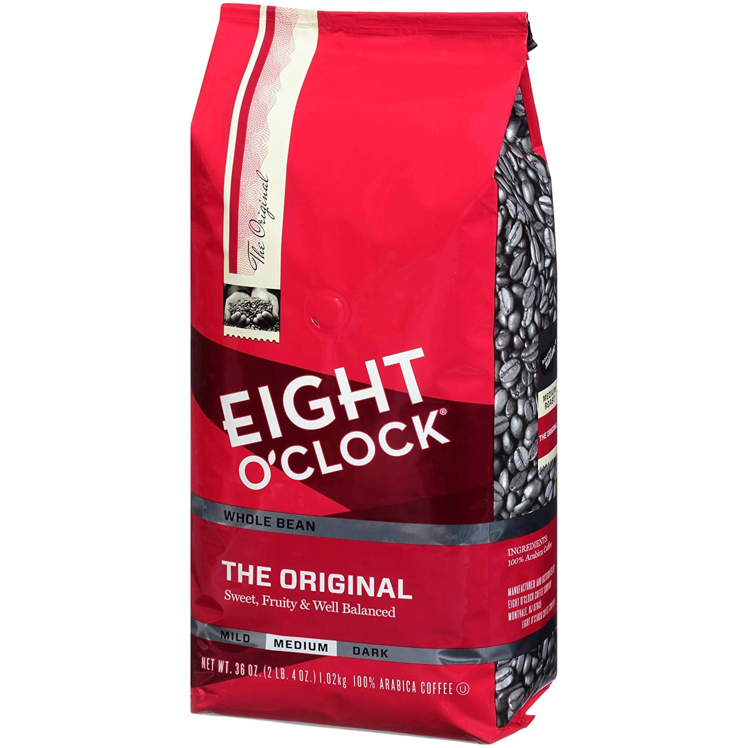 36oz Eight O'Clock Whole Bean Coffee (The Original) $9.42 or Less + Free Shipping Amazon.com