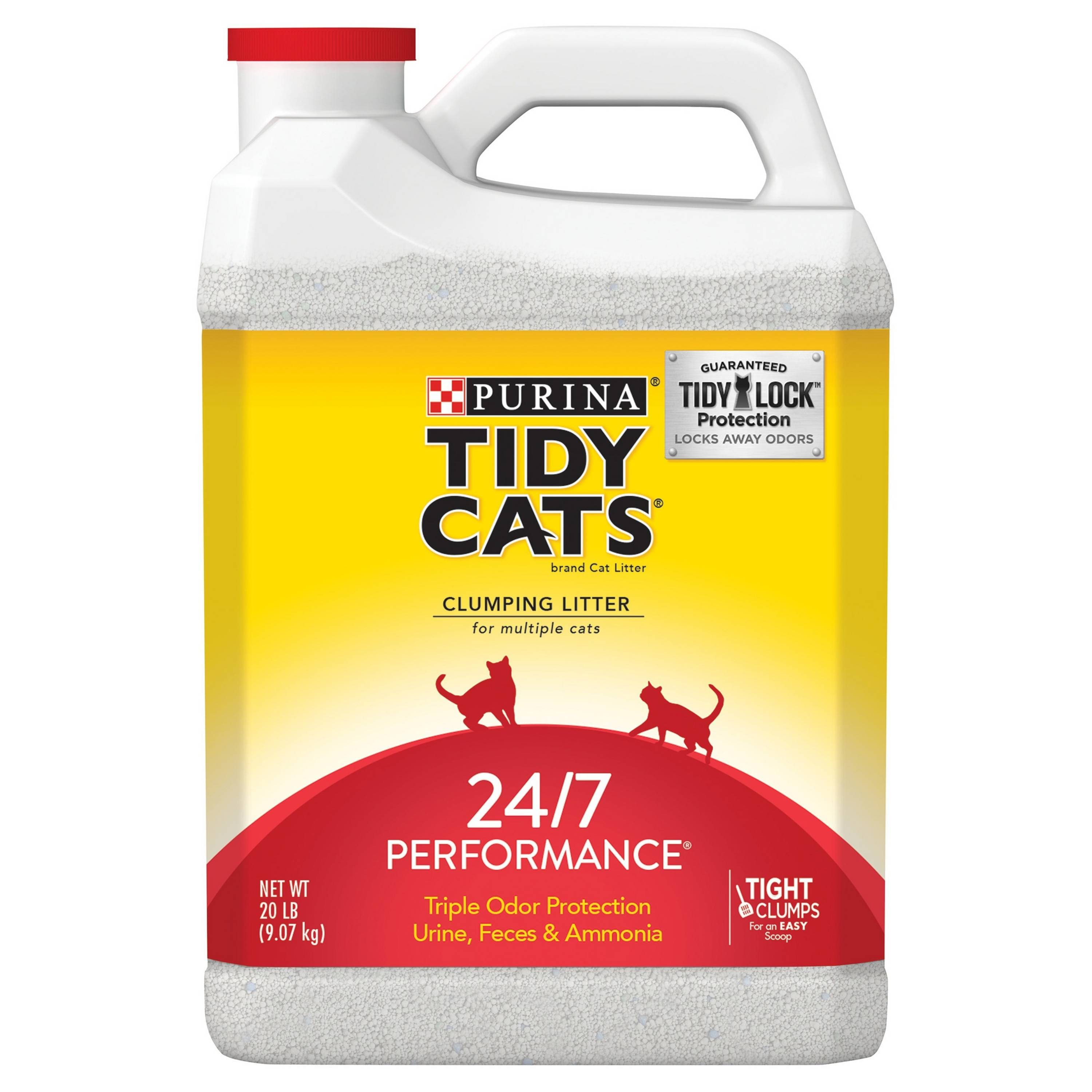Tidy Cats Clumping Cat Litter 2 x 20lb Jugs [40lbs total] for $9.24 with 2nd Subscription Delivery +Tax -REDCard