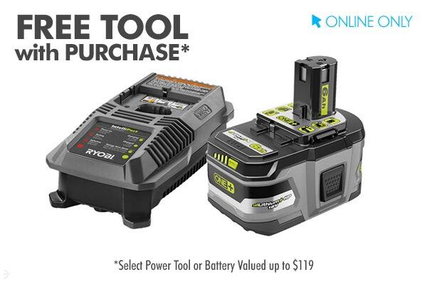 18v one+™ lithium+™hp 6.0ah starter kit & get 1 free tool $119
