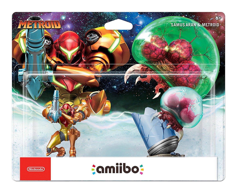 GCU Mem.: Samus Aran & Metroid Amiibo 2-Pack for $23.99 at Best Buy (+ Free Store Pickup) or Ebay.