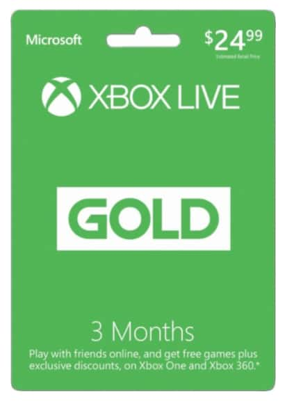 Xbox Live 3-Month Gold (Physical Card) + Rocket League Xbox One (Digital Download) for $24.99 at Best Buy. Free shipping. In store pick up available.