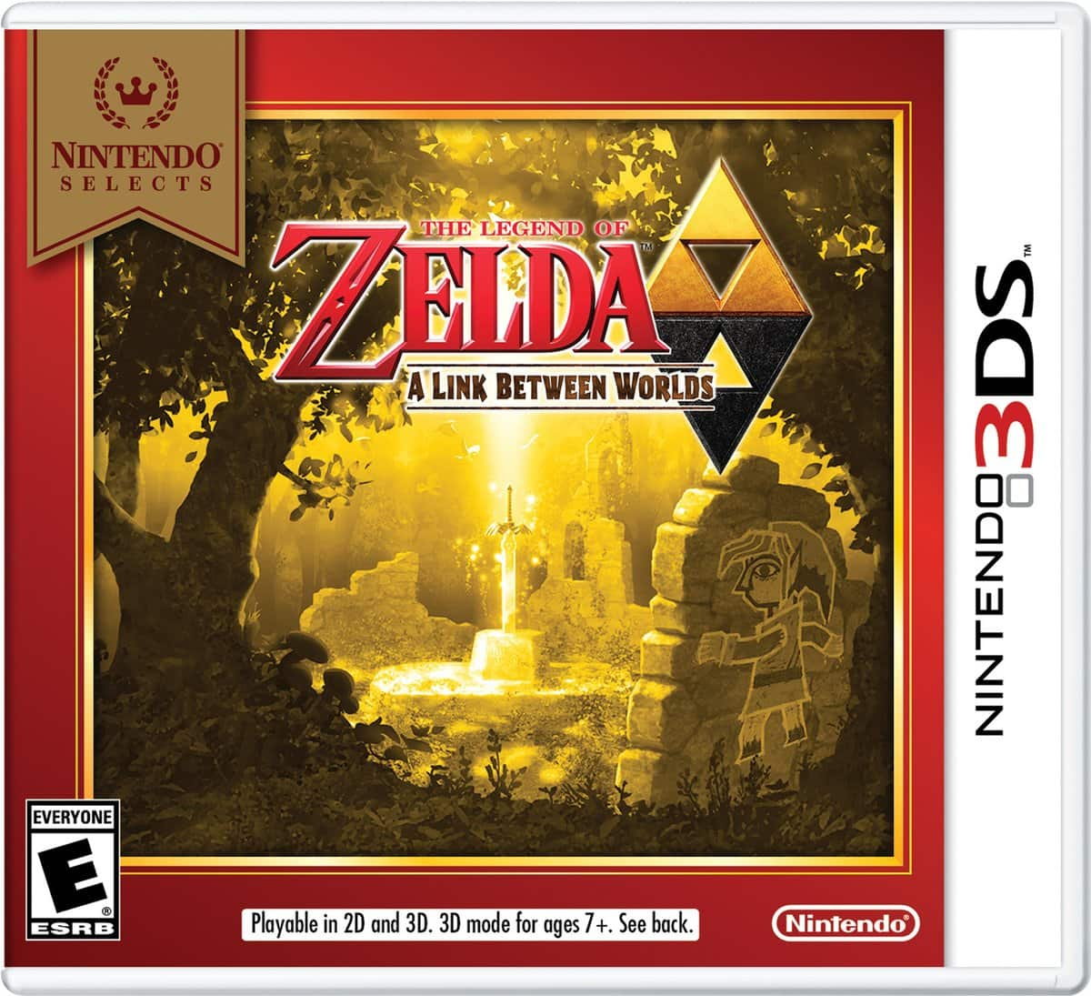 Best Buy GCU Members: 3DS Nintendo Selects: Super Mario 3D Land, The Legend of Zelda: A Link Between Worlds, or Ultimate NES Remix $15.99 each. (MSRP $19.99). Store pick up only.