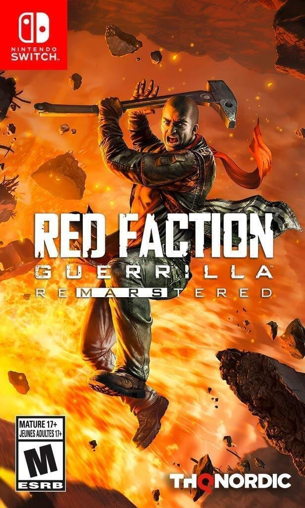 Red Faction: Guerrilla Re-Mars-tered (Switch) $14.99 (New) at Gamestop. In store or online.