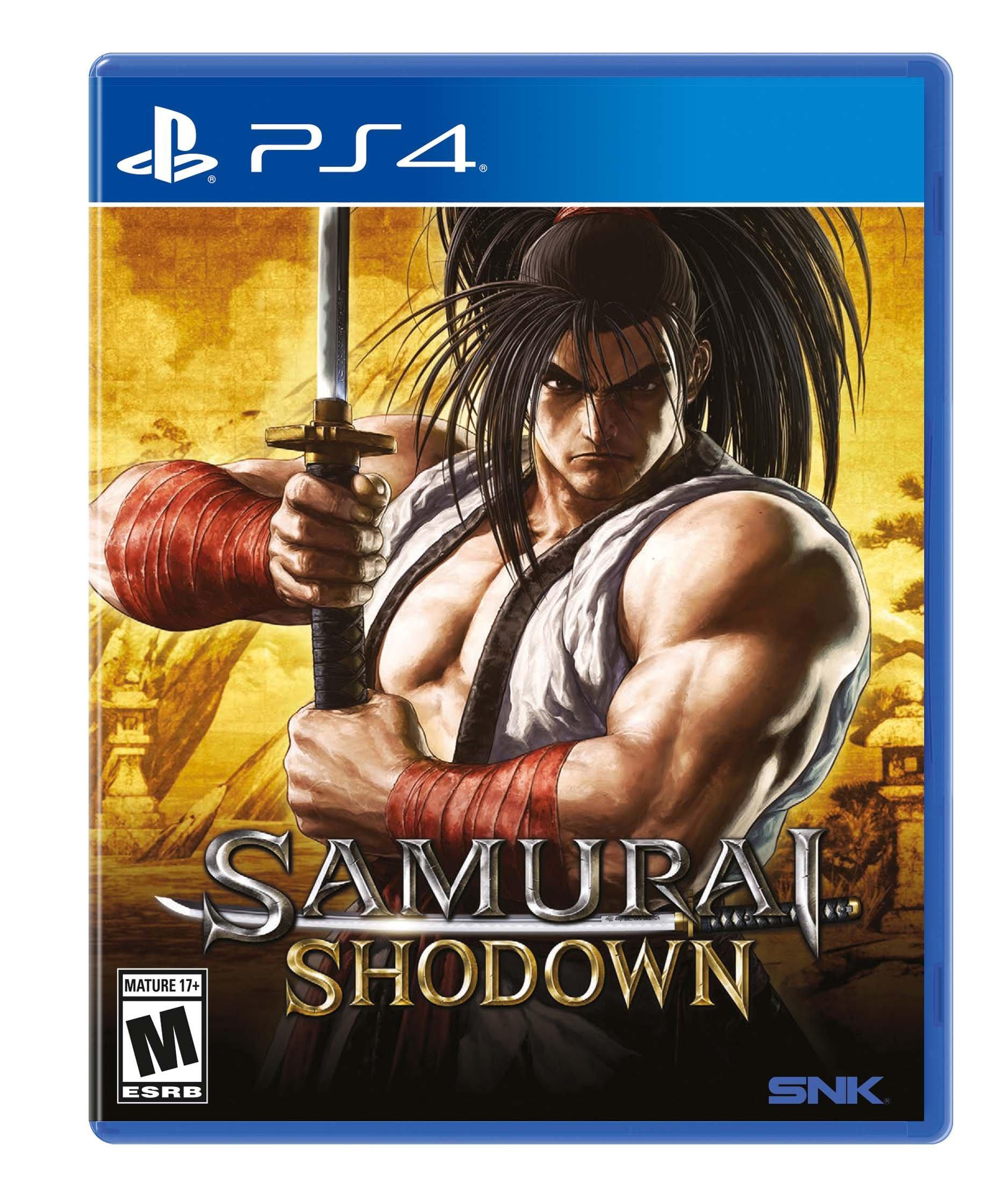 Samurai Showdown (PS4) $12.99 Used (or New YMMV) at Gamestop