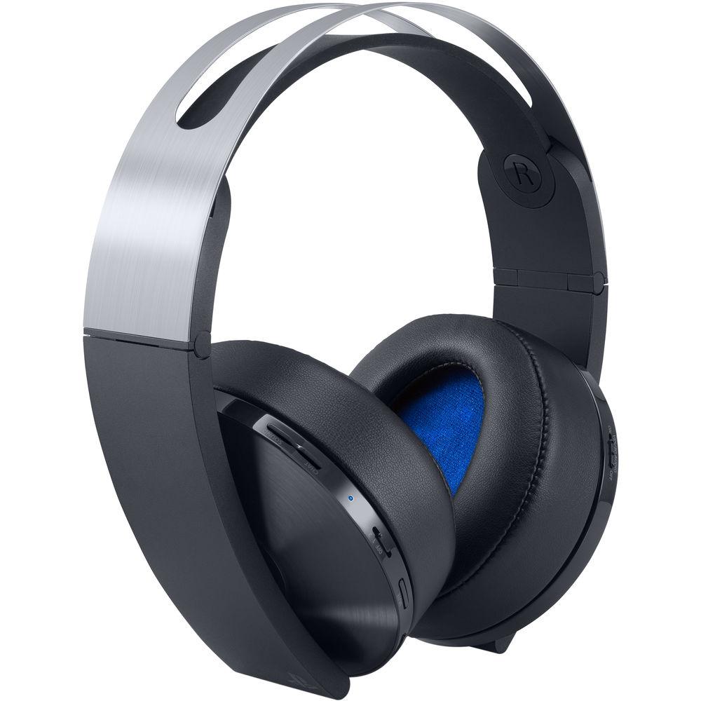 Sony PlayStation 4 Platinum Wireless Headset (Black & Silver) $99.99