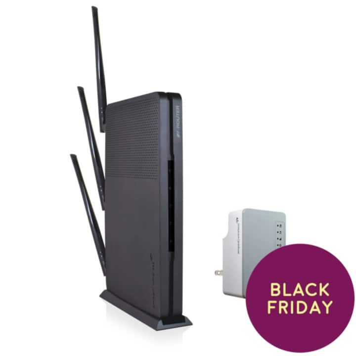 Amped Wireless AC1900 Wi-Fi Router and AC1200 Range Extender Bundle for $99.98 + Free Shipping Online 11/23 and at B&M 11/24 at Sam's Club