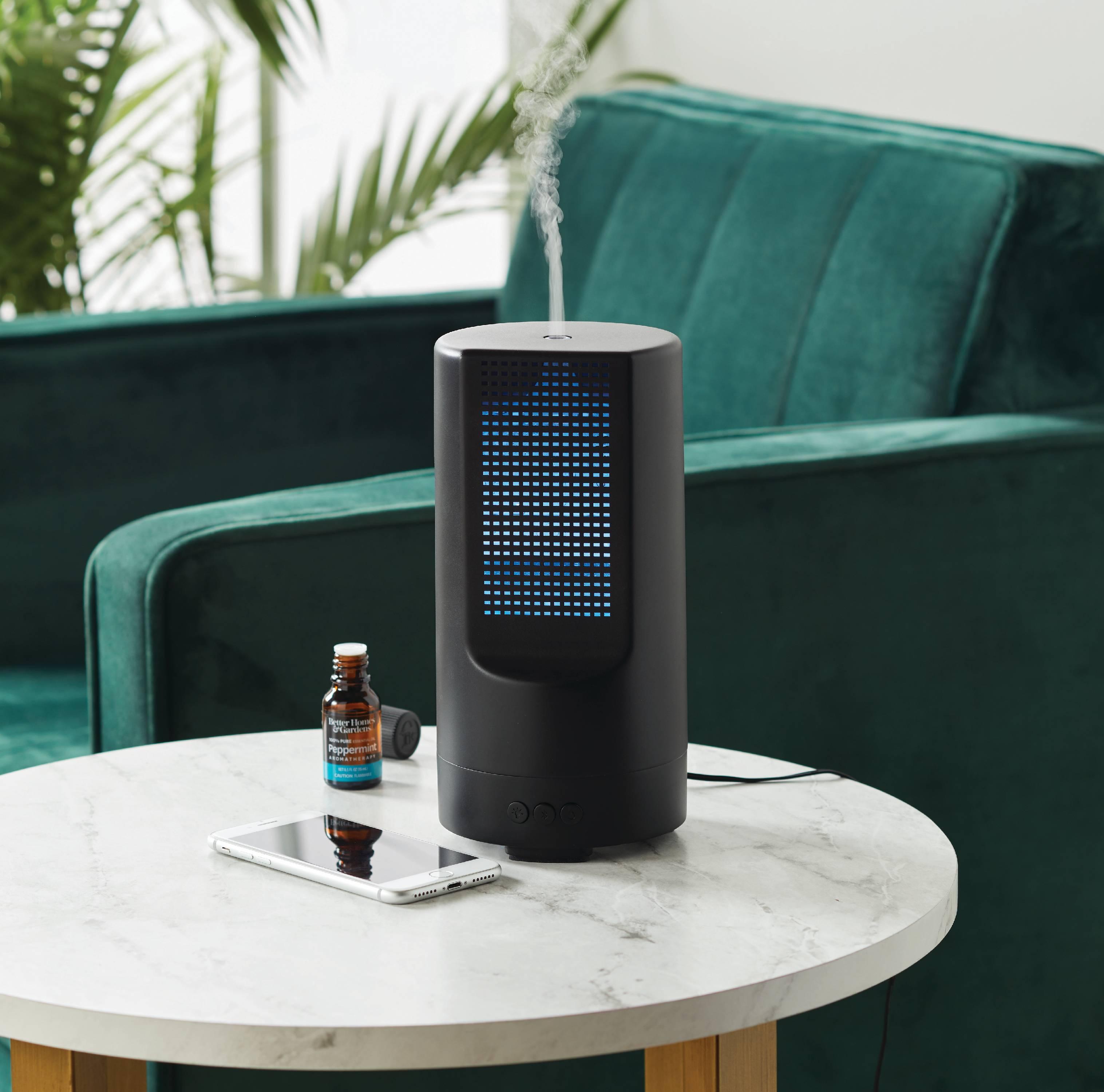 Better Homes & Gardens 220 mL Ultrasonic Aroma Diffuser, Sound Spa Diffuser YMMV $9.87