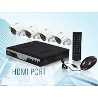 NeweggFlash Deal: Zmodo KDC8-YARUZ4ZN 8 Channel H.264 Level 960H DVR Security System with 4 x 700TVL Night Vision w/IR Cut Outdoor Cameras (No HDD) $146 FS @ Neweggflash