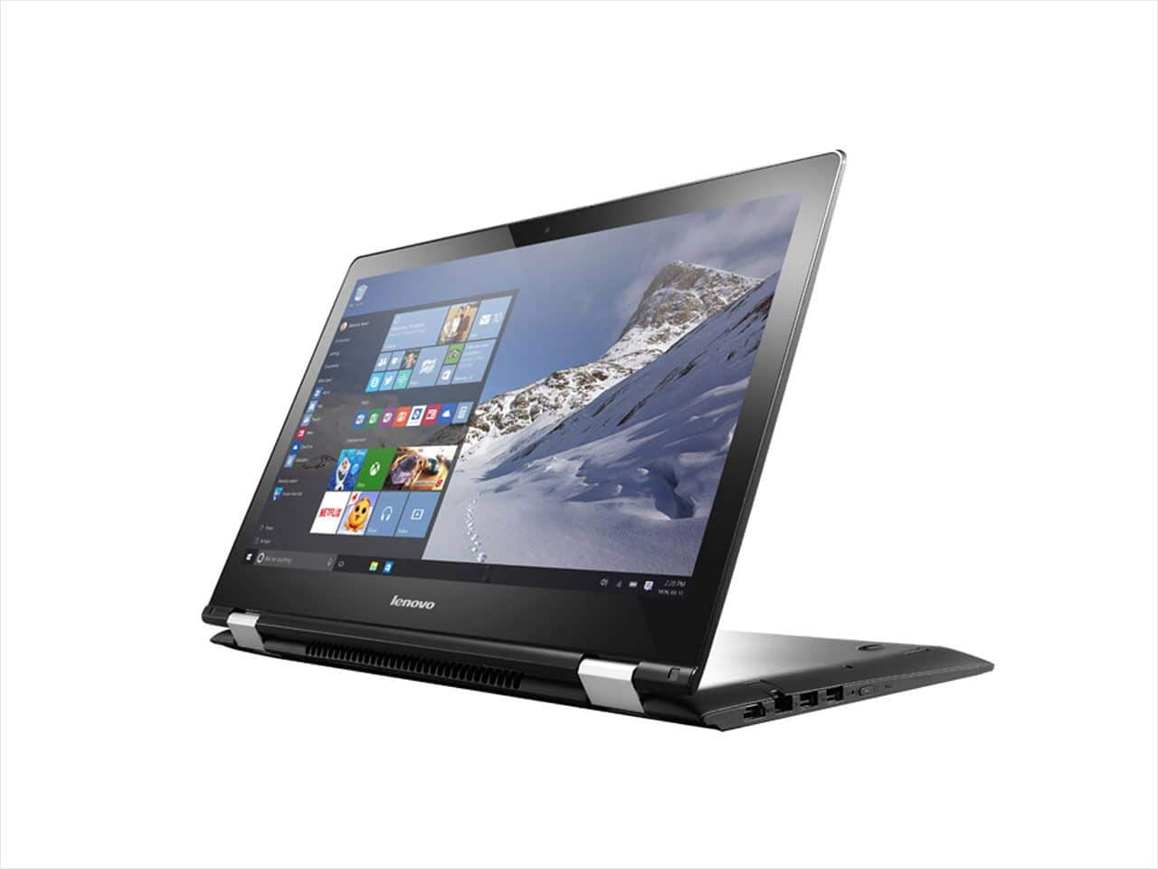 "Lenovo Flex 3 2-in-1 Convertible laptop Intel Core i5-6200U (2.30 GHz) 8 GB Memory 1 TB HDD 15.6"" Touchscreen Windows 10 Home $500 FS neweggflash"