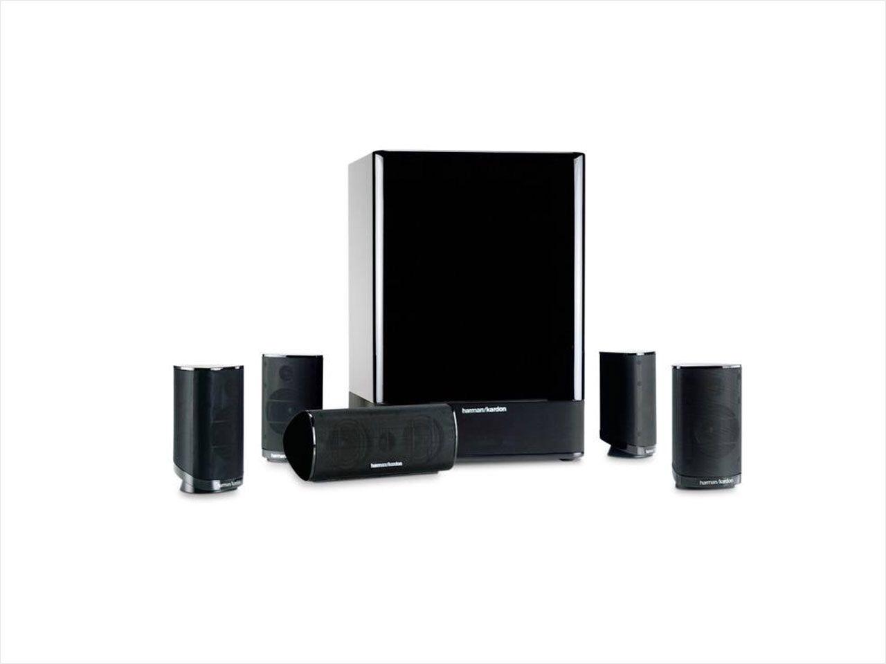 Harman Kardon HKTS 15 5.1 Home Theater Speaker System $155 FS neweggflash