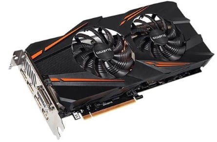 Gigabyte GeForce GTX 1070 Windforce OC 8GB GDDR5 Video Card $357