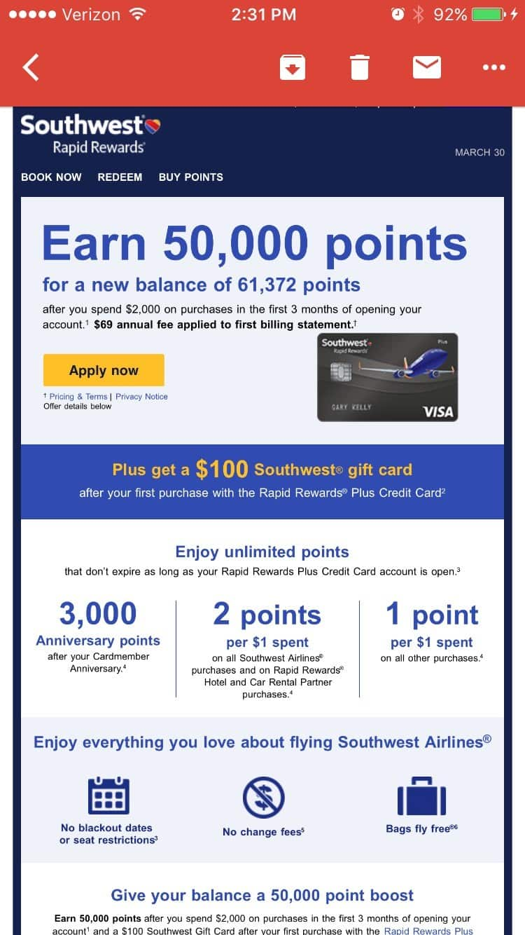 Southwest Business Credit Card 50000 | Unlimitedgamers.co