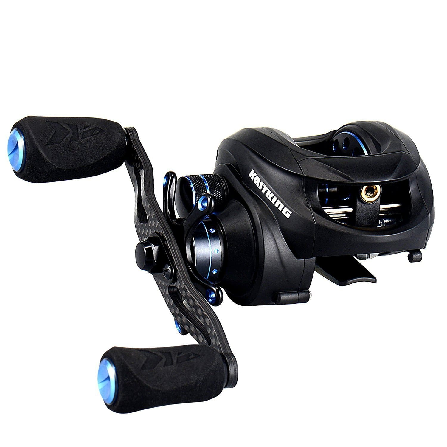 Carbon Baitcasting Reel for Fishing - $41.99 after promo code and free shipping