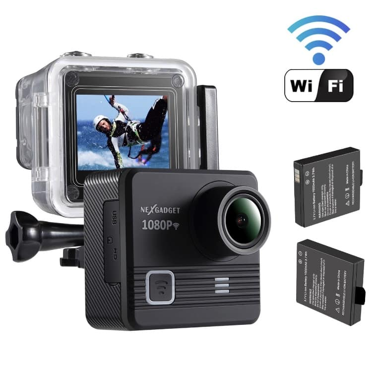 WIFI Action Camera 14MP 1080P Waterproof - $29.99 after promo code and free shipping