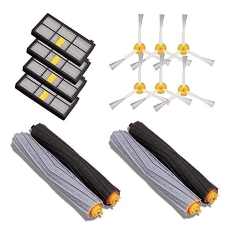iRobot Roomba 880 860 870 871 980 990 Replenishment Parts Spare Brushes Kit - $18.81 after promo code and free shipping