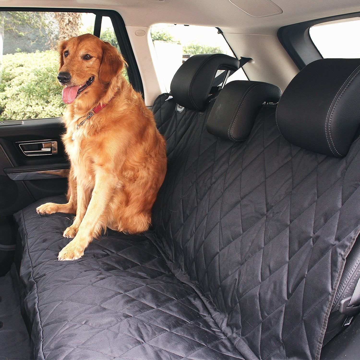 Waterproof Pet Seat Cover/hammock for Cars Trucks and SUVs - $21.59 after promo code and free shipping