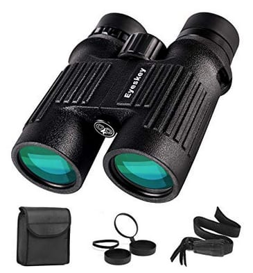 8x42 Compact Binoculars, Waterproof & Fog-Proof, Bright & Clear, Wide Field-of-View $39.99