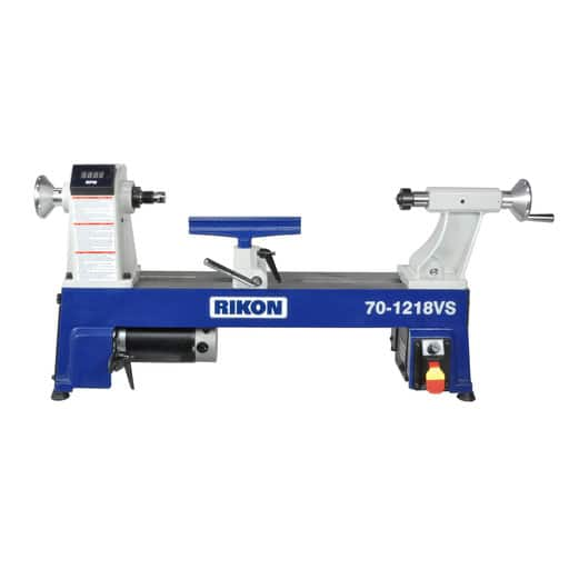 Rikon 70-1218VS 12 x 18 3/4 HP Variable Speed Midi Lathe $349