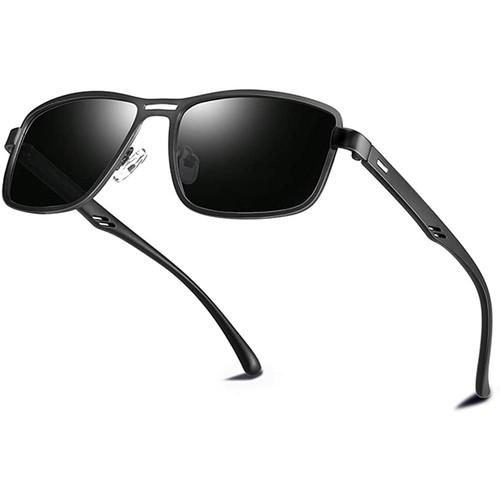 Bircen Mens Classic Square Sunglasses Driving Polarized Sunglasses for Men $4.98 to $12.47