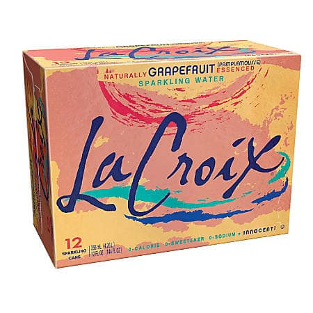3 12-Packs LaCroix Sparkling Water (Grapefruit, Lemon, Orange, Lime) - B&M - $7.98 ($2.66 per 12pk)