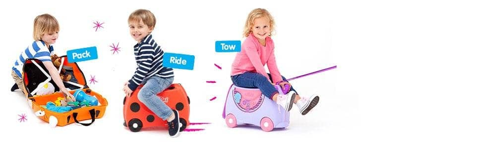 bfa89902a Trunki: The Original Ride-On Suitcase $40 Amazon - Slickdeals.net